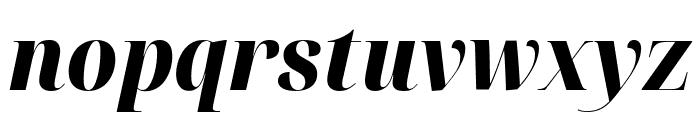 Noto Serif Display Condensed Black Italic Font LOWERCASE