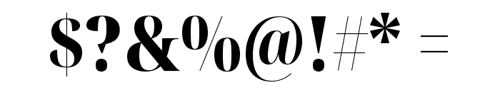 Noto Serif Display Condensed Black Font OTHER CHARS