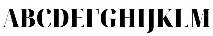 Noto Serif Display Condensed Black Font UPPERCASE
