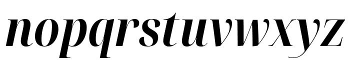 Noto Serif Display Condensed Bold Italic Font LOWERCASE