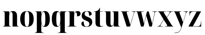 Noto Serif Display Condensed ExtraBold Font LOWERCASE