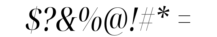 Noto Serif Display Condensed Italic Font OTHER CHARS