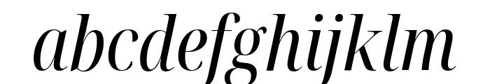 Noto Serif Display Condensed Italic Font LOWERCASE