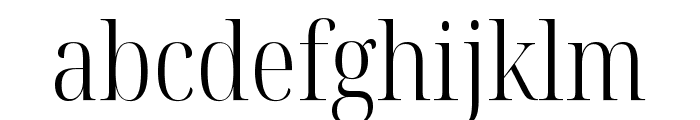 Noto Serif Display Condensed Light Font LOWERCASE