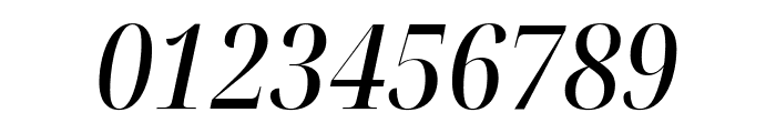 Noto Serif Display Condensed Medium Italic Font OTHER CHARS