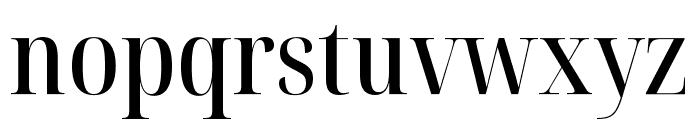 Noto Serif Display Condensed Medium Font LOWERCASE