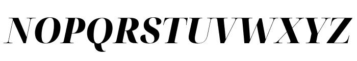 Noto Serif Display ExtraBold Italic Font UPPERCASE