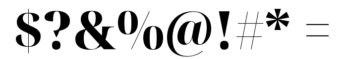 Noto Serif Display ExtraBold Font OTHER CHARS