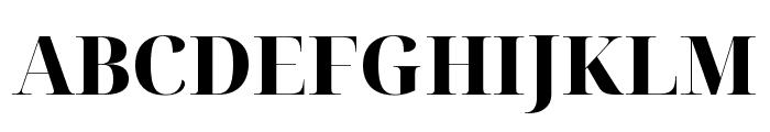 Noto Serif Display ExtraBold Font UPPERCASE