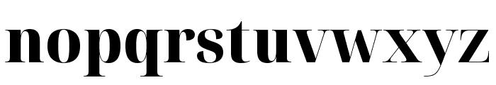 Noto Serif Display ExtraBold Font LOWERCASE