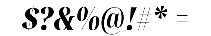 Noto Serif Display ExtraCondensed Black Italic Font OTHER CHARS