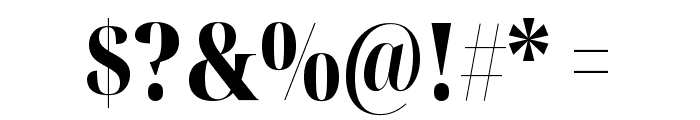 Noto Serif Display ExtraCondensed Black Font OTHER CHARS