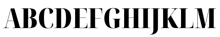 Noto Serif Display ExtraCondensed Black Font UPPERCASE