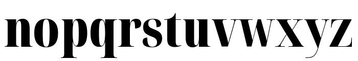 Noto Serif Display ExtraCondensed Black Font LOWERCASE