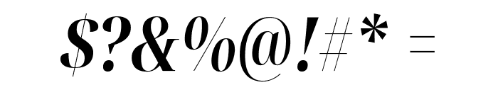 Noto Serif Display ExtraCondensed Bold Italic Font OTHER CHARS