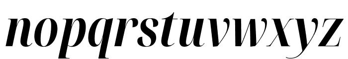 Noto Serif Display ExtraCondensed Bold Italic Font LOWERCASE