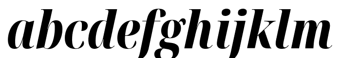 Noto Serif Display ExtraCondensed ExtraBold Italic Font LOWERCASE