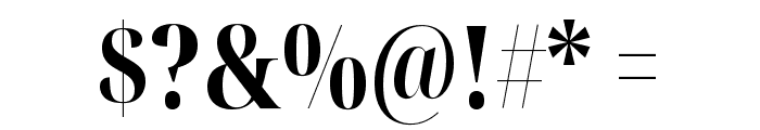 Noto Serif Display ExtraCondensed ExtraBold Font OTHER CHARS