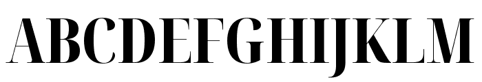 Noto Serif Display ExtraCondensed ExtraBold Font UPPERCASE