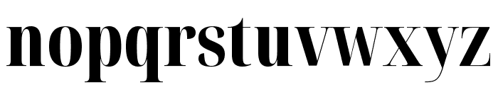 Noto Serif Display ExtraCondensed ExtraBold Font LOWERCASE