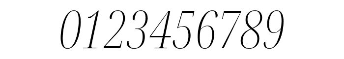 Noto Serif Display ExtraCondensed ExtraLight Italic Font OTHER CHARS
