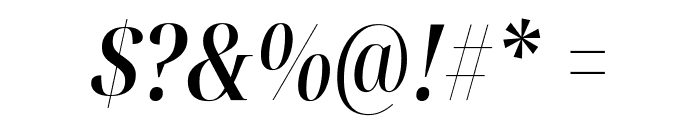 Noto Serif Display ExtraCondensed SemiBold Italic Font OTHER CHARS