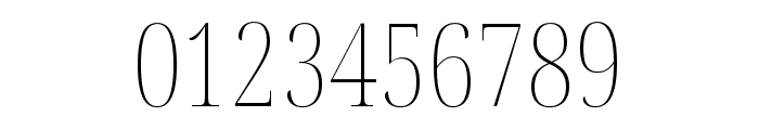 Noto Serif Display ExtraCondensed Thin Font OTHER CHARS