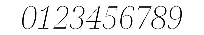 Noto Serif Display ExtraLight Italic Font OTHER CHARS