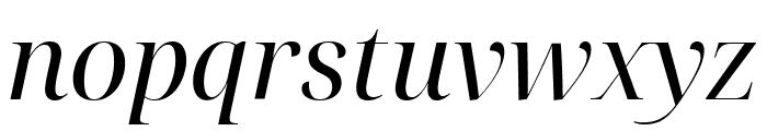 Noto Serif Display Italic Font LOWERCASE