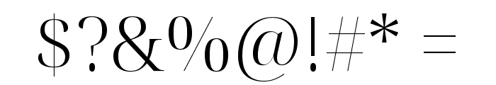 Noto Serif Display Light Font OTHER CHARS
