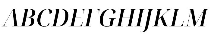 Noto Serif Display Medium Italic Font UPPERCASE