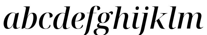 Noto Serif Display Medium Italic Font LOWERCASE