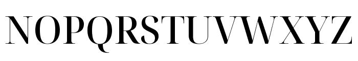 Noto Serif Display Medium Font UPPERCASE