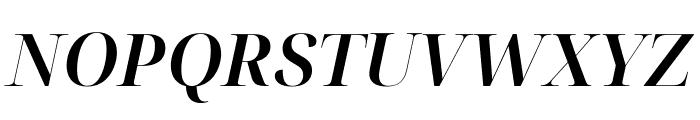 Noto Serif Display SemiBold Italic Font UPPERCASE