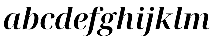Noto Serif Display SemiBold Italic Font LOWERCASE