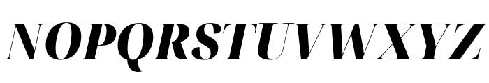Noto Serif Display SemiCondensed Black Italic Font UPPERCASE