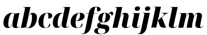 Noto Serif Display SemiCondensed Black Italic Font LOWERCASE