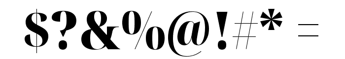 Noto Serif Display SemiCondensed Black Font OTHER CHARS