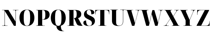 Noto Serif Display SemiCondensed Black Font UPPERCASE