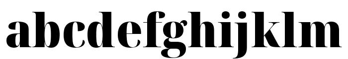 Noto Serif Display SemiCondensed Black Font LOWERCASE