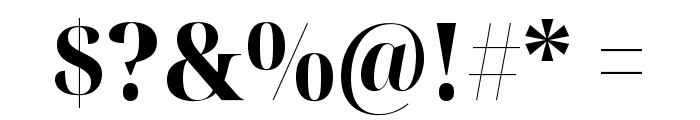 Noto Serif Display SemiCondensed ExtraBold Font OTHER CHARS