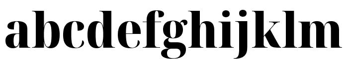 Noto Serif Display SemiCondensed ExtraBold Font LOWERCASE