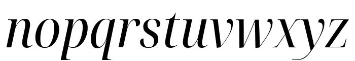 Noto Serif Display SemiCondensed Italic Font LOWERCASE