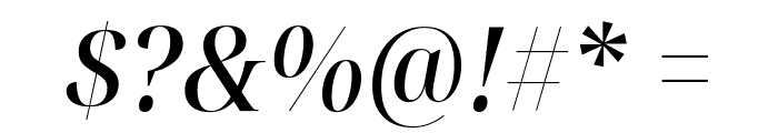 Noto Serif Display SemiCondensed Medium Italic Font OTHER CHARS