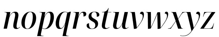 Noto Serif Display SemiCondensed Medium Italic Font LOWERCASE