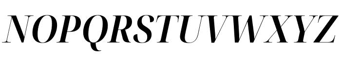 Noto Serif Display SemiCondensed SemiBold Italic Font UPPERCASE