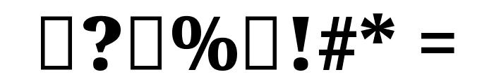 Noto Serif Tamil Black Font OTHER CHARS