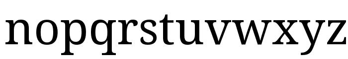 Noto Serif Font LOWERCASE