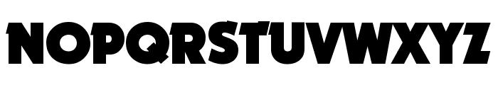 Nougat ExtraBlack Font UPPERCASE