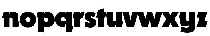 Nougat ExtraBlack Font LOWERCASE